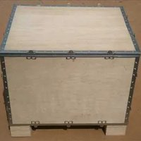 Foldable Nailless Plywood Boxes