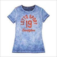 Cold Pigment Dyeing T-Shirt