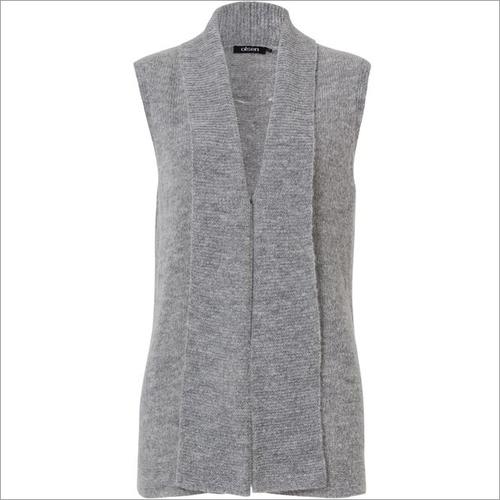 olsen storm grey sleeveless cardigan gray product