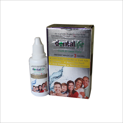 Herbal Tooth And Gums Tonic