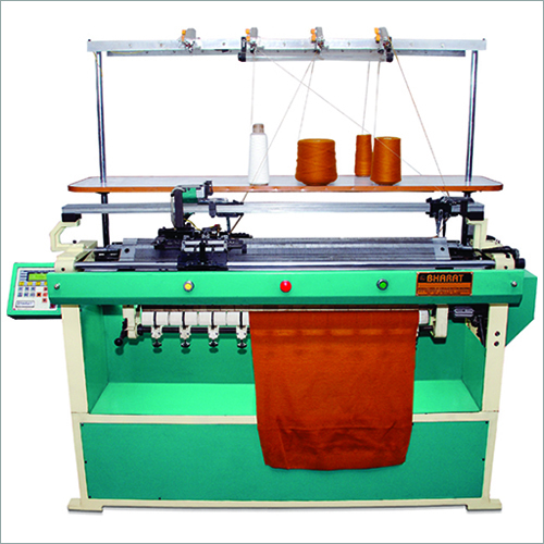 Flat Bed Comp Knitting Machine