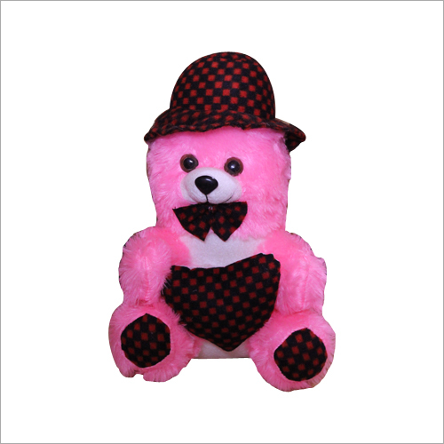 Pink Teddy Bear With Heart