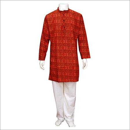 Men's Mantra Khadi Kurta