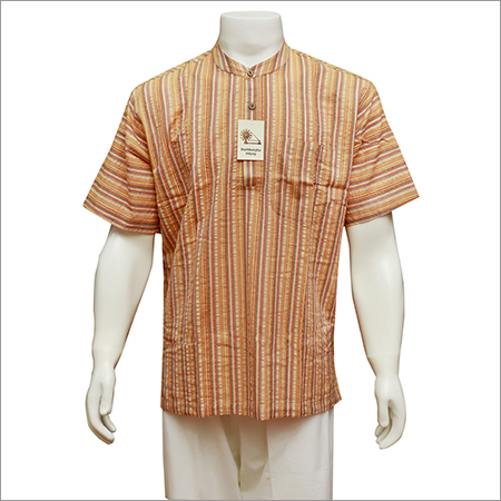 Mens Half Sleeve Short Kurta