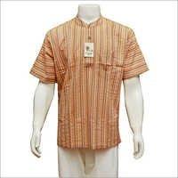 Men's Half Sleeve Short Kurta