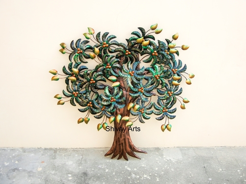 Contemporary Designer Mango Tree Wall Decor Wall Hanging Wall Mural Wall Sculpture