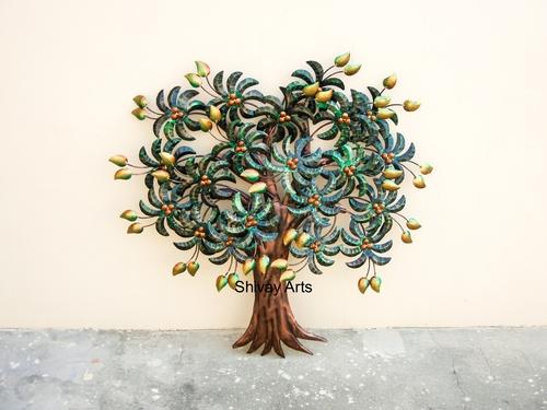 Contemporary Designer Mango Tree Wall Decor Wall Hanging Wall Mural Wall Sculpture