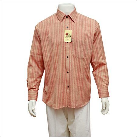 Men's Full Sleeves Khadi Shirt