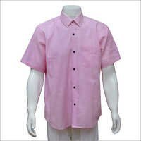Men's Half Sleeves Khadi Shirt