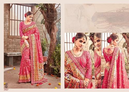 Shop Designer Banarasi Silk Saree online