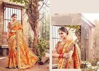 Banarasi Silk Designer Work Sarees Supplier
