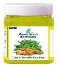 Aromablendz Tulsi and Turmeric Face Pack