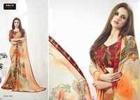 Georgette Fancy Saree