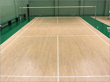 Air Cush Badminton Court Flooring
