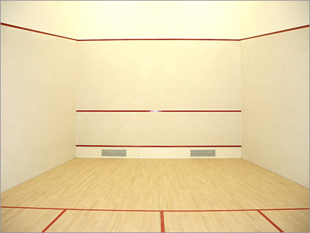 Hard Plaster System For Squash Court