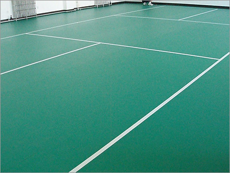 PVC Indoor Sports Flooring Service