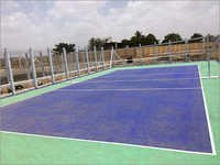 Volleyball Surface Construction