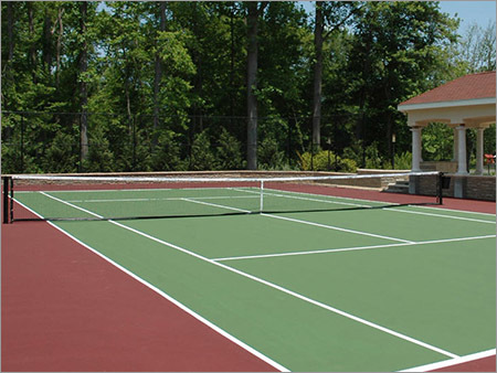Tennis Court Floor