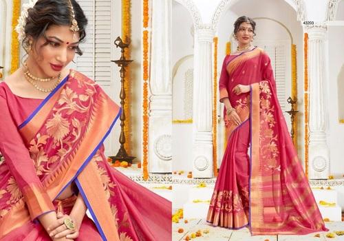 Weaving Silk Saree Supplier