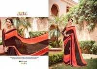 Hand Printed Latest Fashion Saree