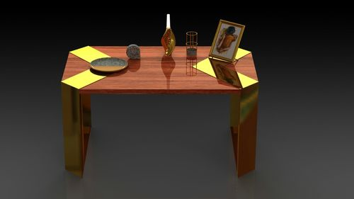 Wooden & fusion Table