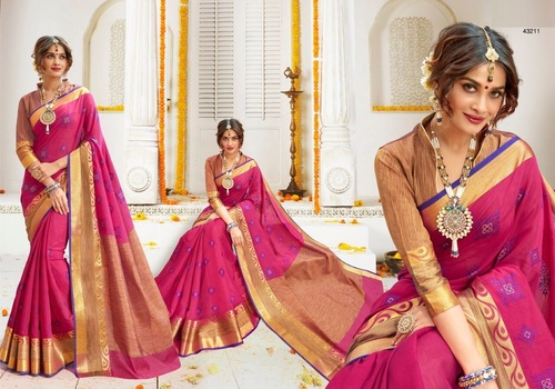 Tradition with Trend Silk Sarees
