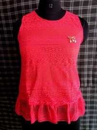 Pink Colors Girls Tops