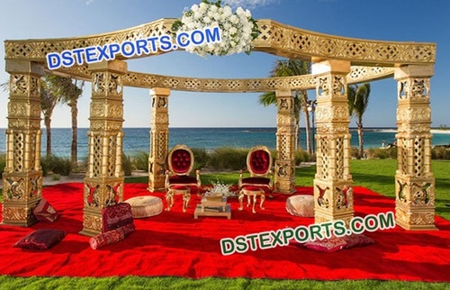 Open Wedding Mandap Decoration