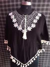 Kaftan Designer Tops With Embroidery