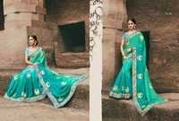 Fancy Designer Chiffon Saree
