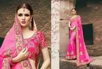 Shaded Magenta Party Wear Saree
