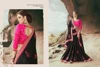 Embroidered Work Georgette Saree Supplier In Surat