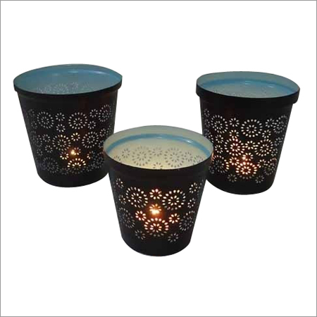 T Light Round Candle Holder