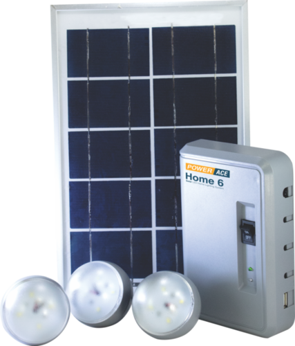Home 6 - Solar Home Lighting System