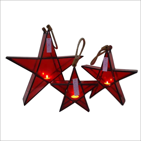 Star Tealight Candle Lanterns