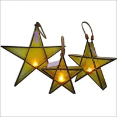 Hanging Star Candle Holder