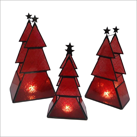 Christmas T Light Candle Holder