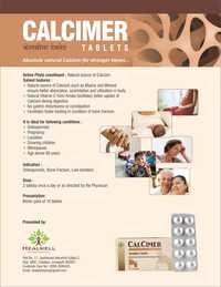 Herbal Calcium Tablets For Strong Bones