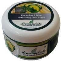 Aromablendz Cucumber & Mint Face Scrub