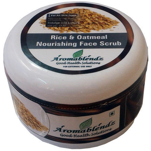 Aromablendz Rice and Oatmeal Face Scrub