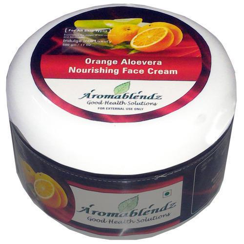 Aromablendz Orange And Aloevera Face Cream
