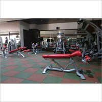 Rubber Gym Flooring Tiles