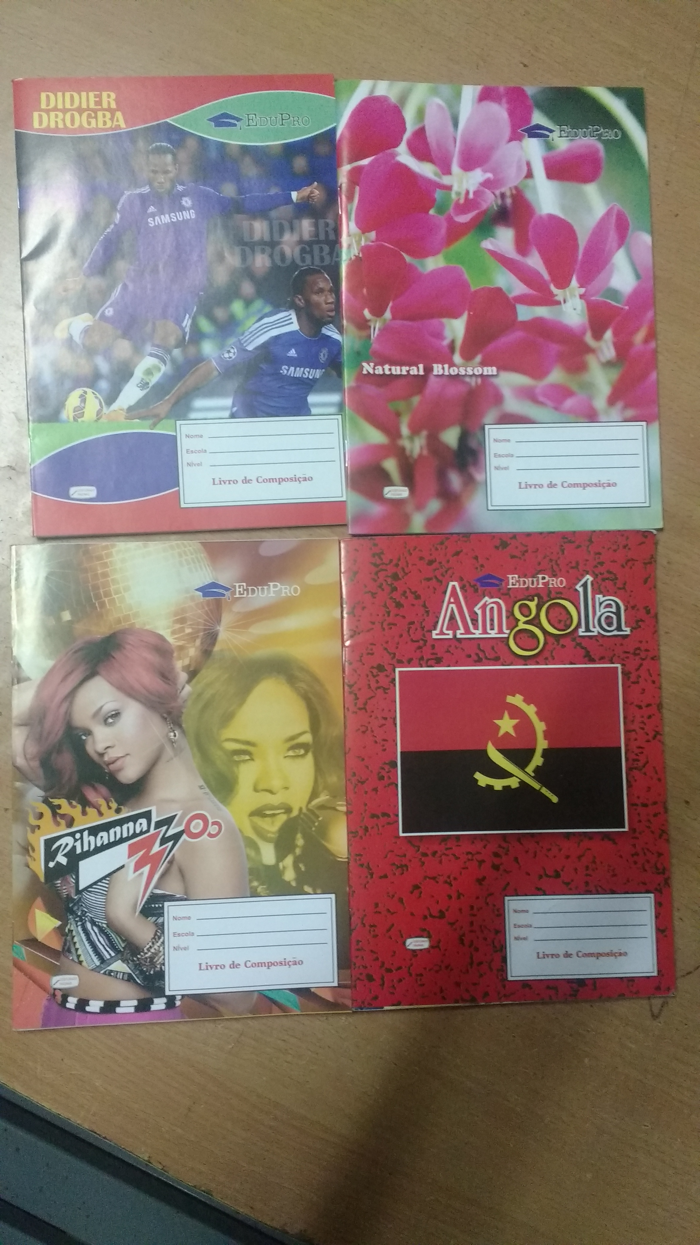 Angola Small Notebook
