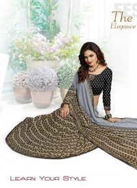 Partywear Look sarees