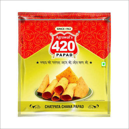 Papad Packaging Laminated Pouch