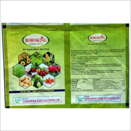 Seeds Packaging Laminated Pouch