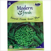 Green Peas Laminated Pouch