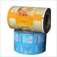 Printed Plastic Packaging Roll