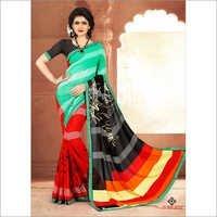 Ladies Designer Print Sarees