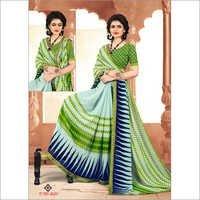 Ladies Digital Printed Party Wear Sarees